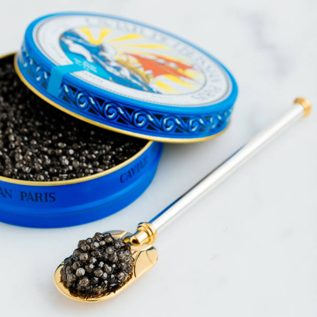 Guests will enjoy a behind-the-scenes experience at the Petrossian Caviar House