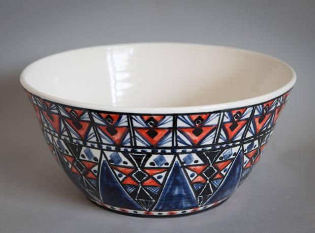 Porcelain bowl by Qest sholar Mia Sarosi, from £200