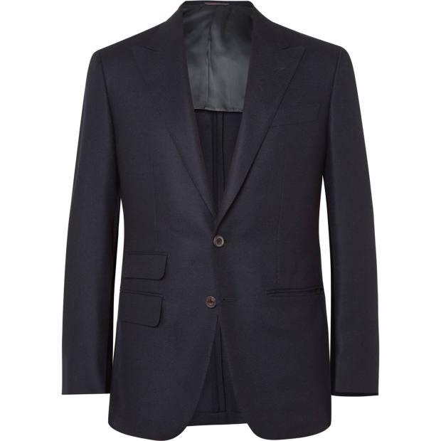 Thom Sweeney wool-twill Curzon blazer, £995
