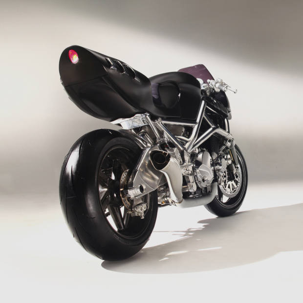Rear view of the Icon Sheene.
