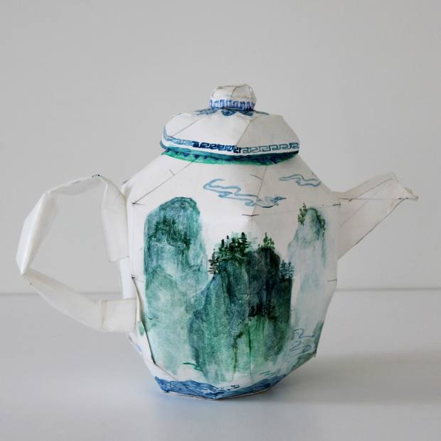 Ruth Gurvich acrylic-on-paper teapot, €2,700