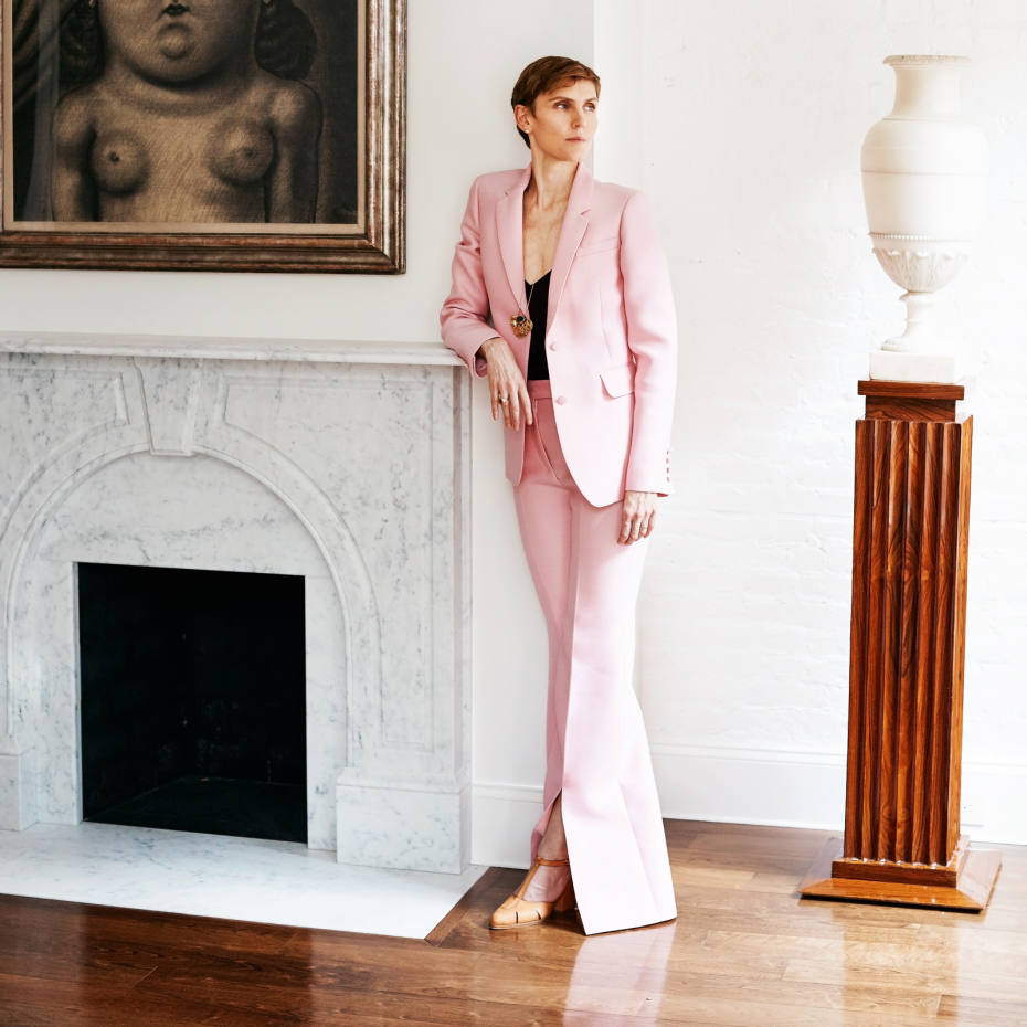 Gabriela Hearst at home in New York