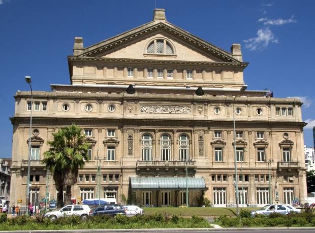 Teatro Colón opera house