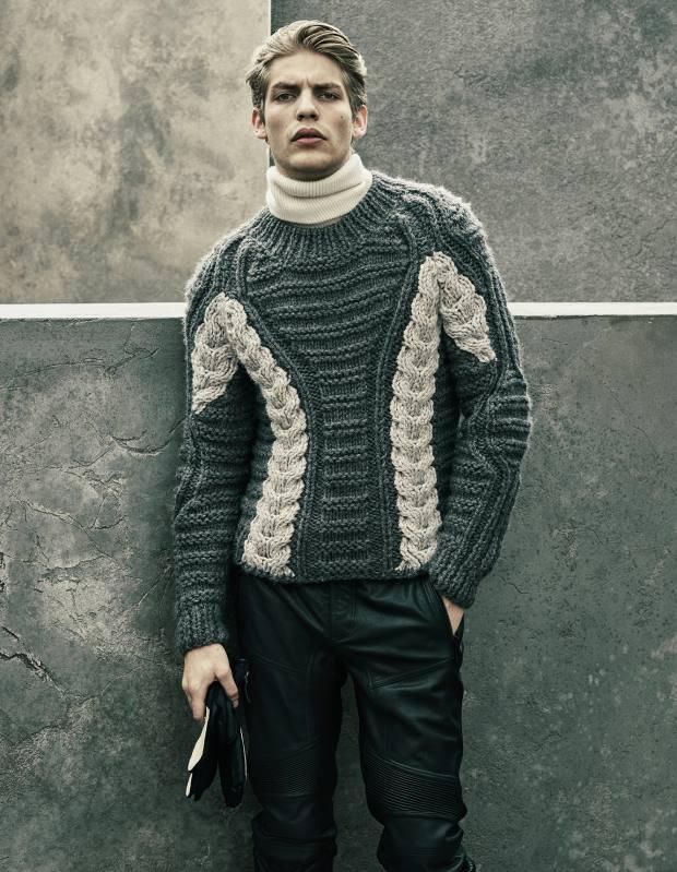 Belstaff alpaca/wool jumper, £795