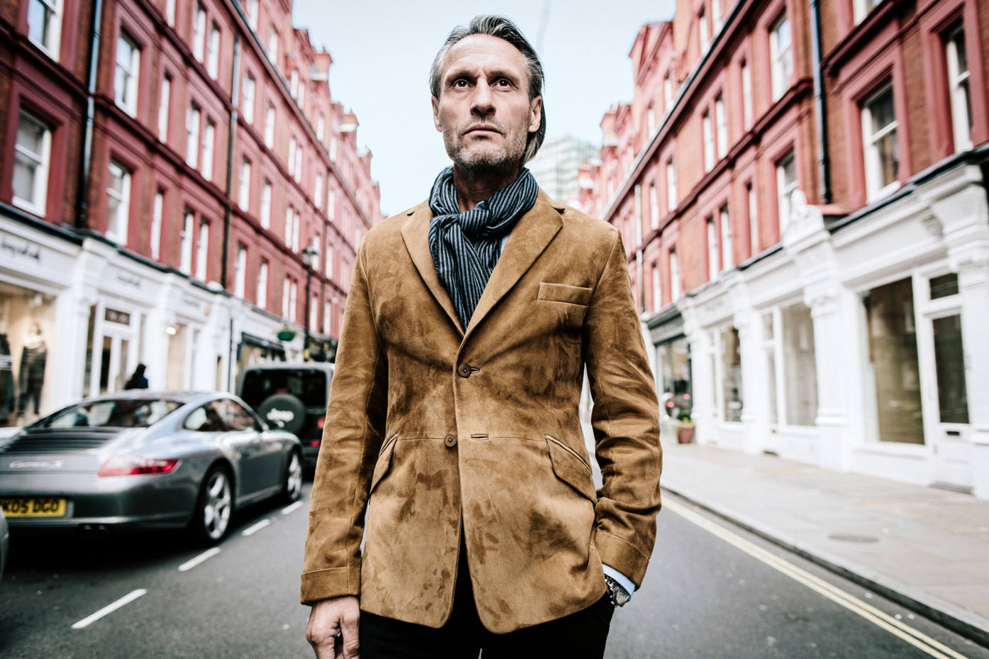 Bespoke suede jackets are the new smash hit in menswear