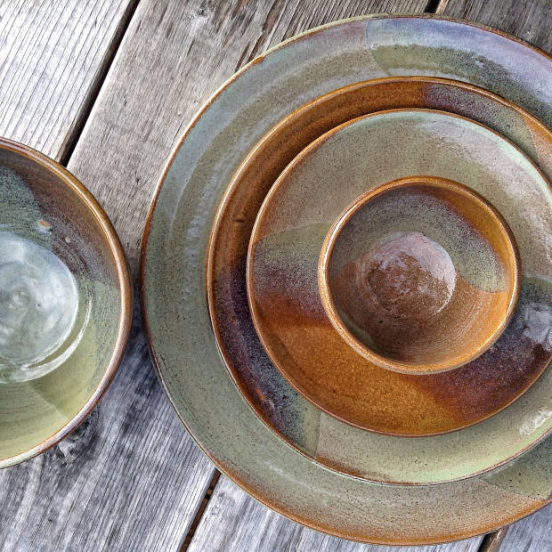 Andrea Hill for The Point stoneware breakfast crockery, from $4
