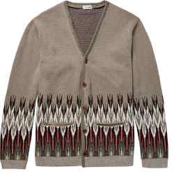 United Arrows Fair Isle cardigan, £400