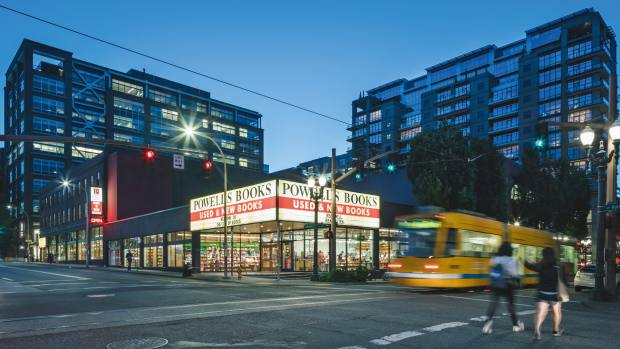 Powell's, the world's largest privately owned bookshop