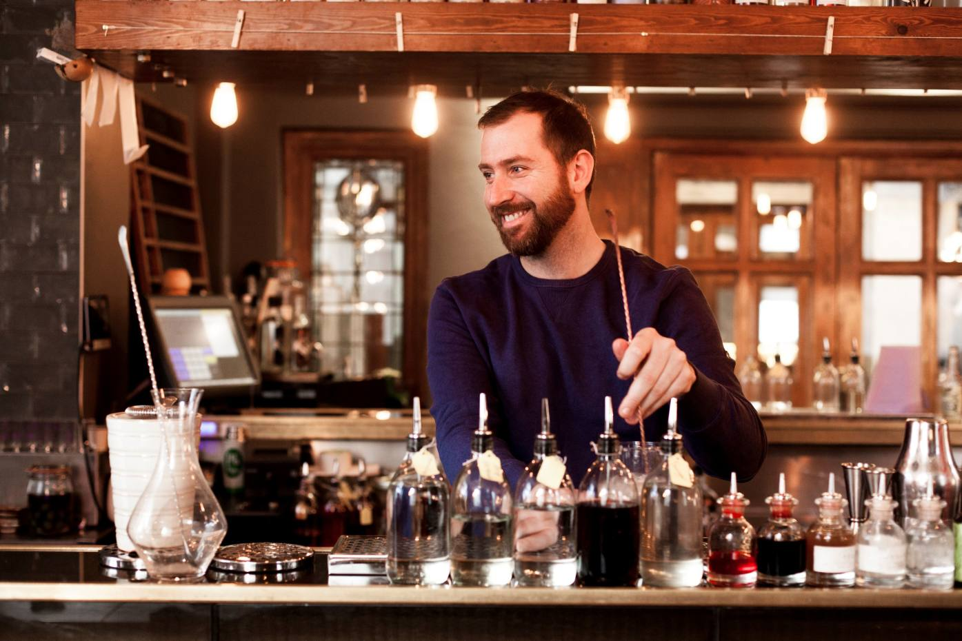 Matt Whiley, the bartender who has transformed the London drinks scene with Peg + Patriot, Purl and the Worship Street Whistling Shop
