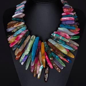 Pebble London agate necklace, £220