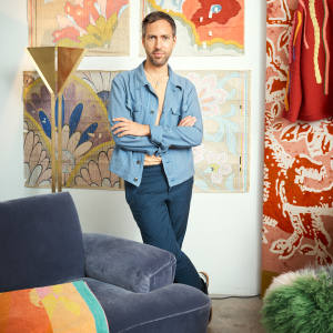 Peter Pilotto at home in London