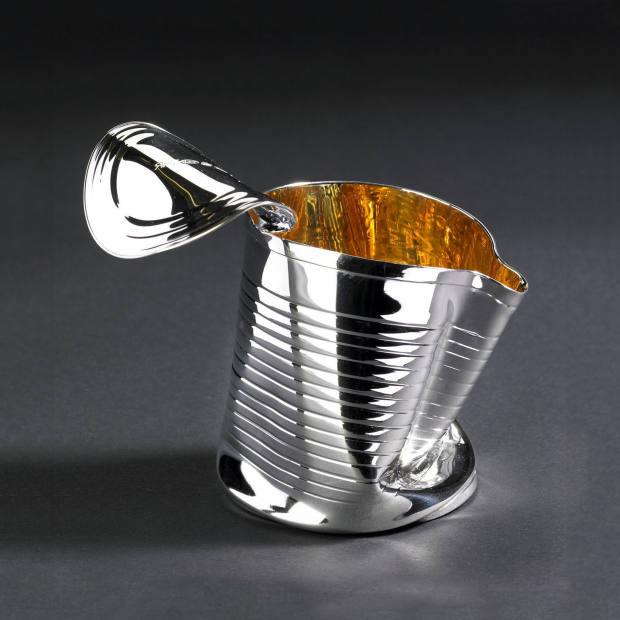 Rebecca Joselyn's Crushed Can jug, £695.