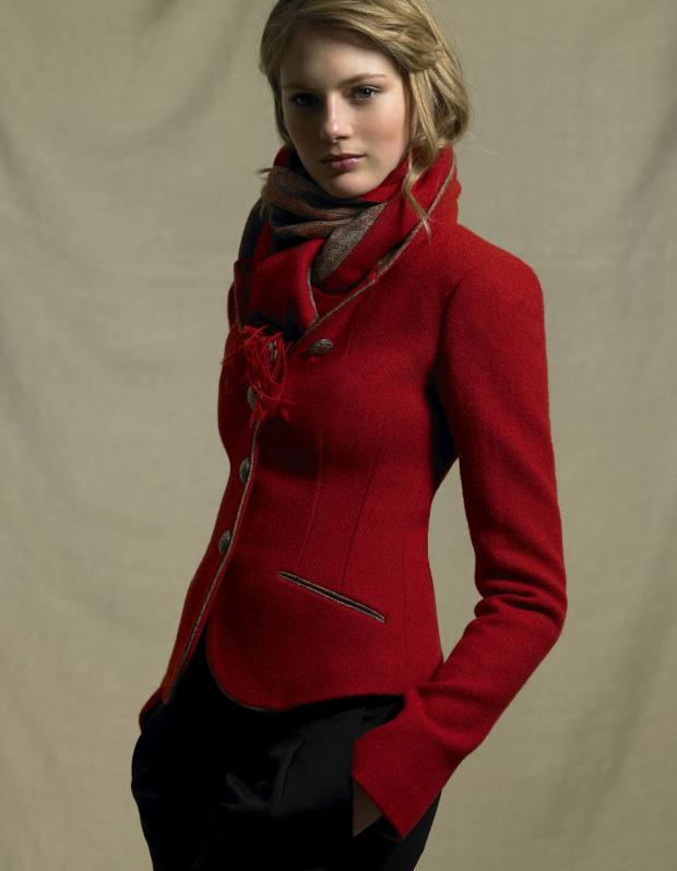 Alexander jacket from the Main collection by Katherine Hooker, £535.