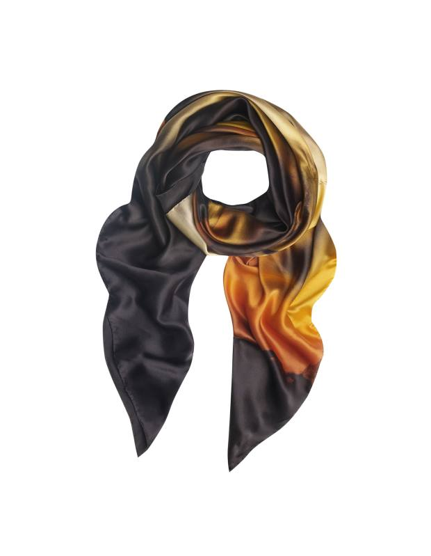 Brown agate scarf by Richard Weston, £205 from Liberty.