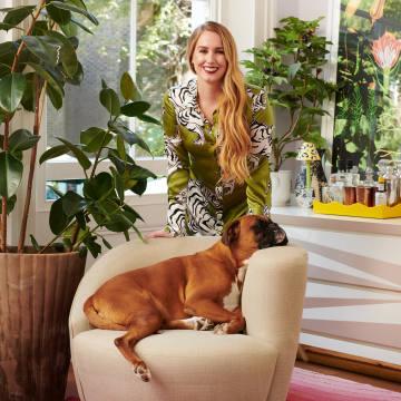 Olivia von Halle at home in London