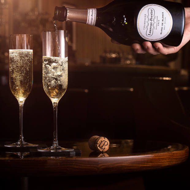 Laurent-Perrier Blanc de Blancs Brut Nature is the house's eighth champagne
