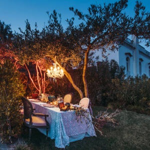 Alfresco dining at Belmond Villa Margherita in Ravello