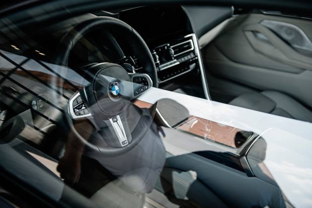 The BMW 8 Series harnesses the power of the very best technology currently available
