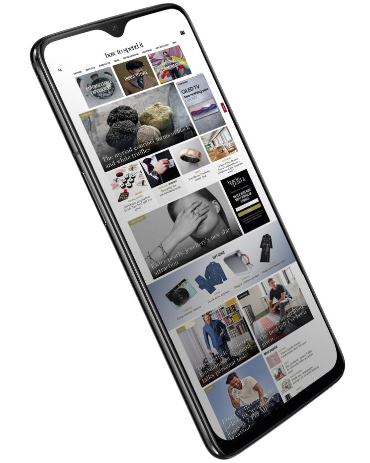 OnePlus 6T, from £499