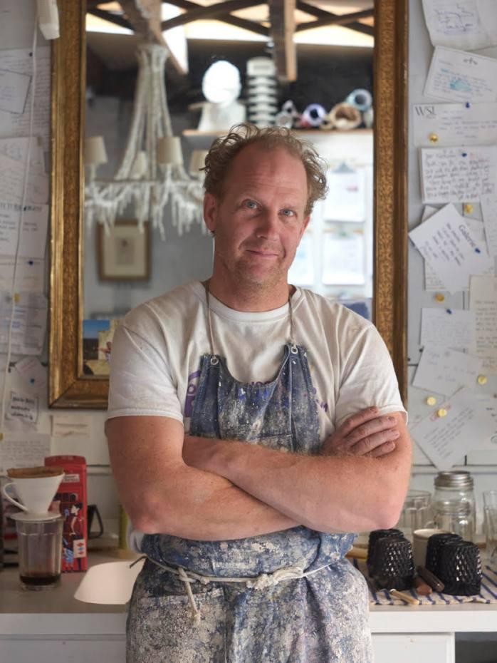 Brooklyn-based plaster artist Stephen Antonson
