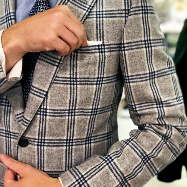 Norton & Sons lambswool jacket, £990
