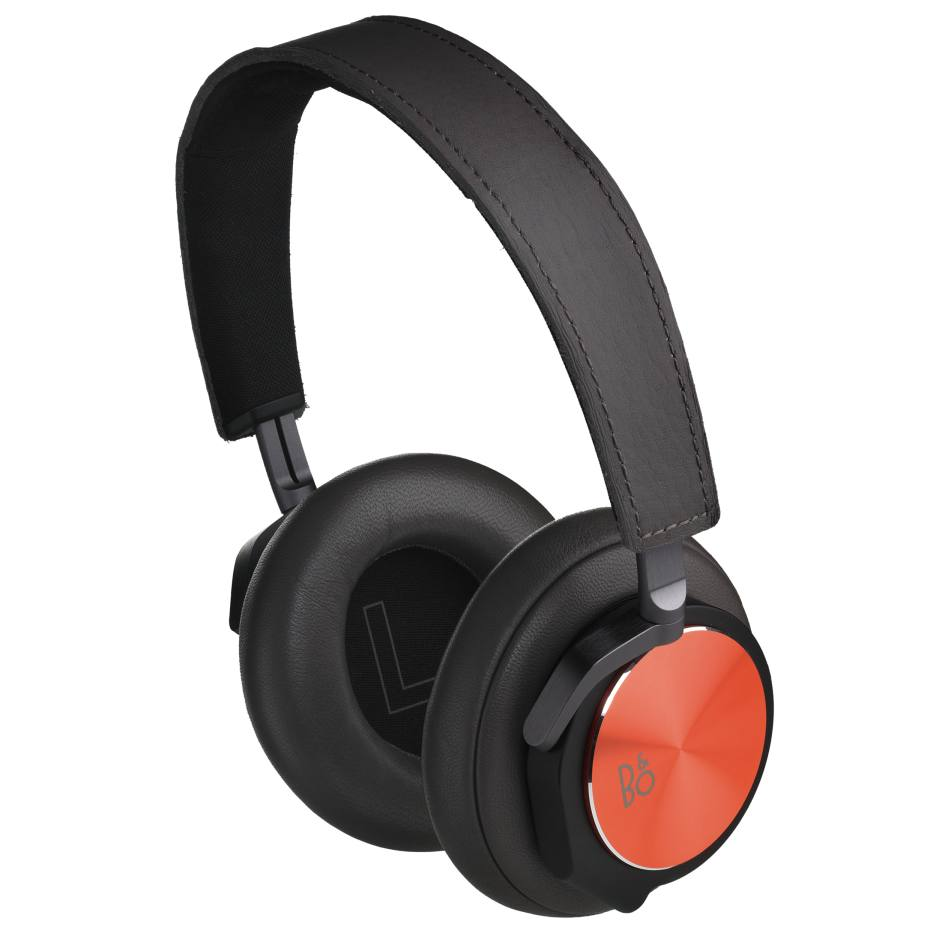 Bang & Olufsen BeoPlay H6 special- edition headphones in leather and metal, £329. Also in other colours