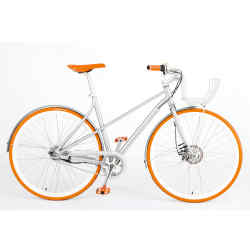 Vélosophy's aluminium-framed bike (certain editions from £695 at The Conran Shop)