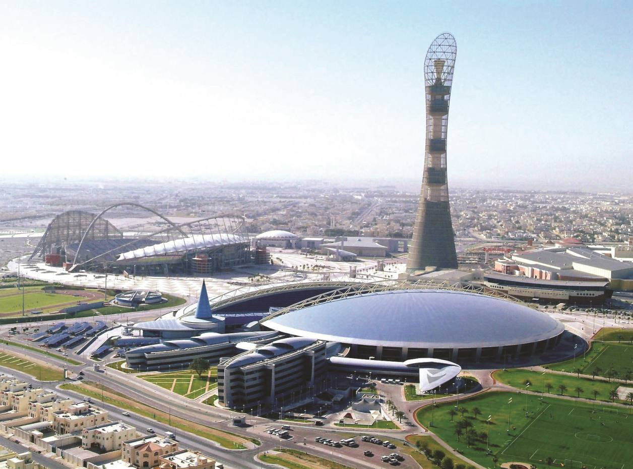 The Aspire Zone, also known as Doha Sports City