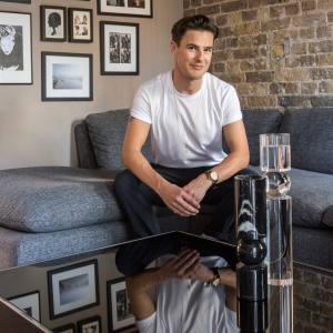 Lee Broom at home in London