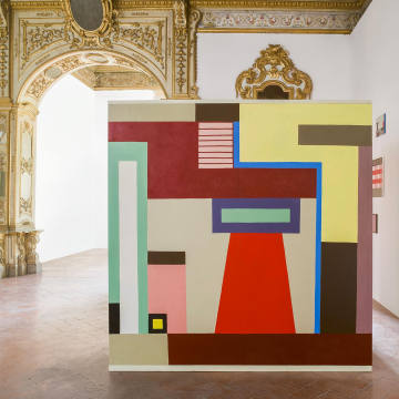 The Memphis Group founding member's work is on display in Brescia's A Palazzo gallery