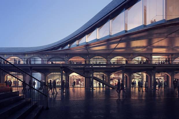 New retail development Coal Drops Yard in London's King's Cross