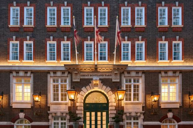 Great Scotland Yard reopened as a hotel in December