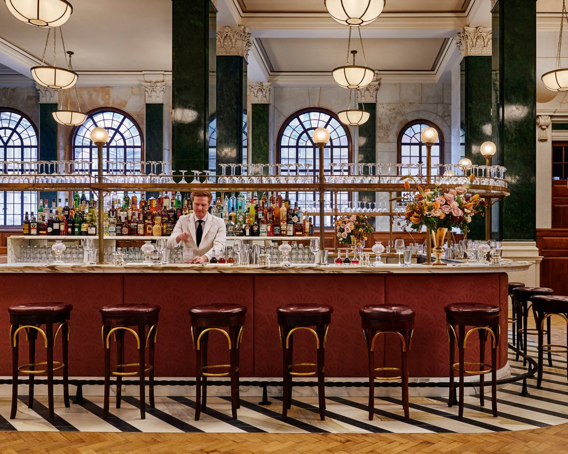 Cecconi's at The Ned, Soho House's new 252-room hotel in London's East End