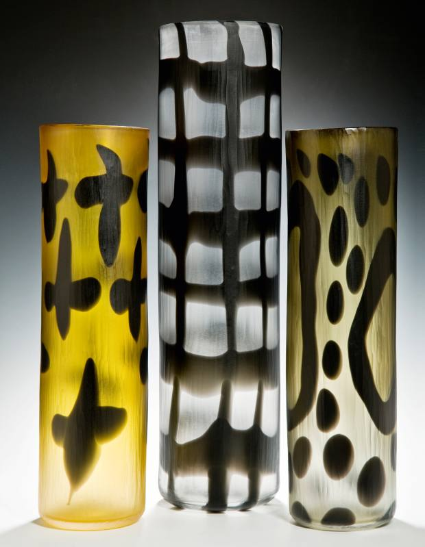 Objects with Marks vases by Simon Moore, from £950