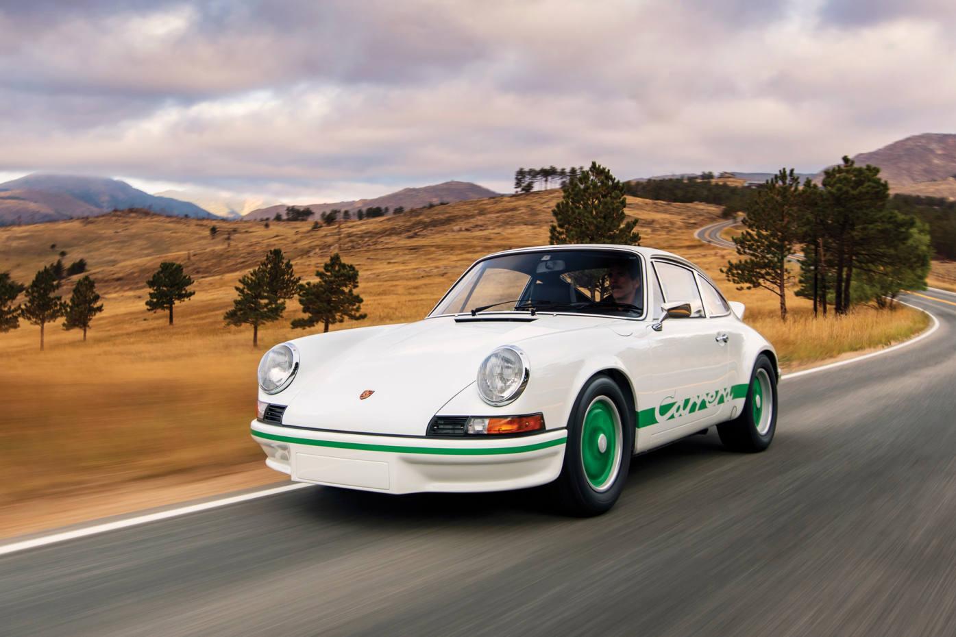 The 1973 Porsche 911 Carrera RS 2.7 Sport is one of just 200 original lightweight versions built,$875,000-$1.1m
