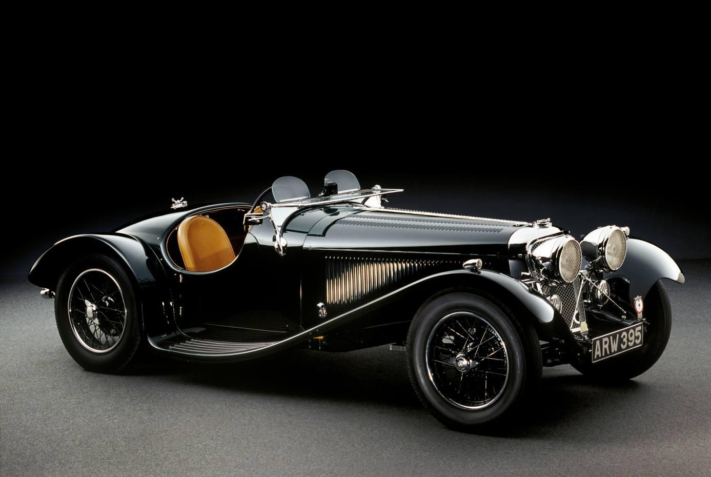 A 1935 Jaguar SS 90 Prototype