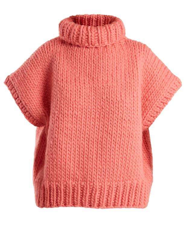I Love Mr Mittens wool short-sleeve sweater, £285