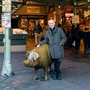Jim Olson at Seattle's Pike Place Market