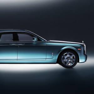 Rolls-Royce's 102EX Phantom Experimental Electric.