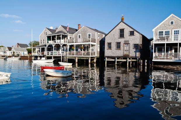 The island of Nantucket, off the coast of Cape Cod, Massachusetts