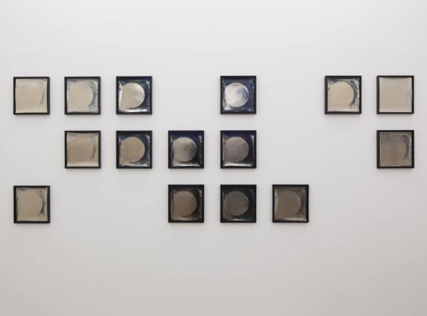 Heliograms, 1876/2011, photograms, by Lisa Oppenheim