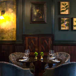 The cosy interior of Paddington's The Cleveland Arms