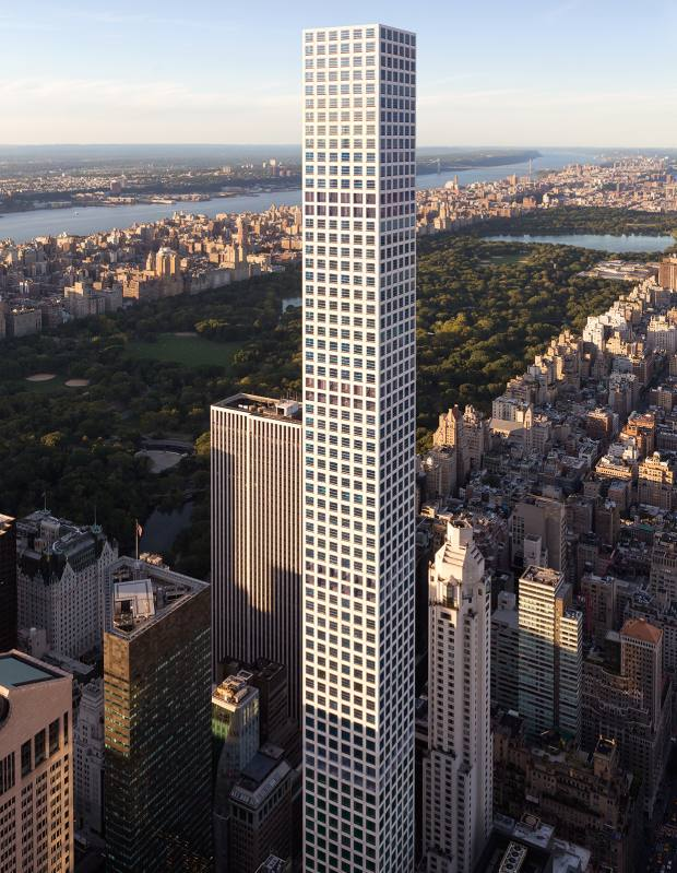 432 Park Avenue, New York, apartments from $16.95m