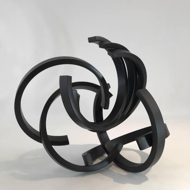 Steel (2019) by Anachar Basbous at Agial Art Gallery