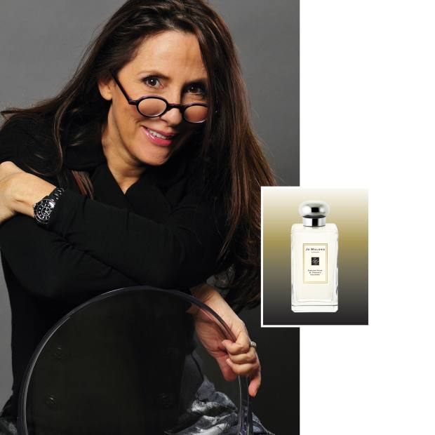 Christine Nagel has been working with Jo Malone. Inset: Jo Malone English Pear & Freesia (£34, 30ml).