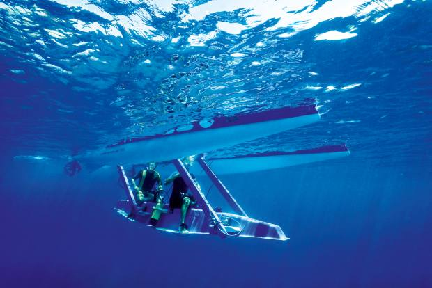 Platypus Blue Ocean semisubmersible boat, from €125,000