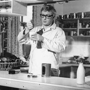 Michael Caine in The Ipcress File, 1965