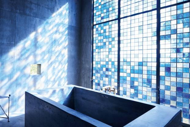 """Christiansen's """"bathing cathedral"""""""