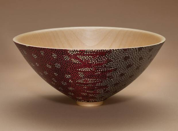 Speckled Bowl by Peter Archer, £250