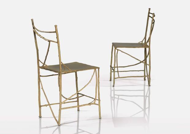 Chaises aux Branchettes by Claude Lalanne, €60,000-€80,000